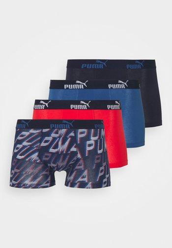 MEN PROMO BOXER 4 PACK - Boxerky - red/blue