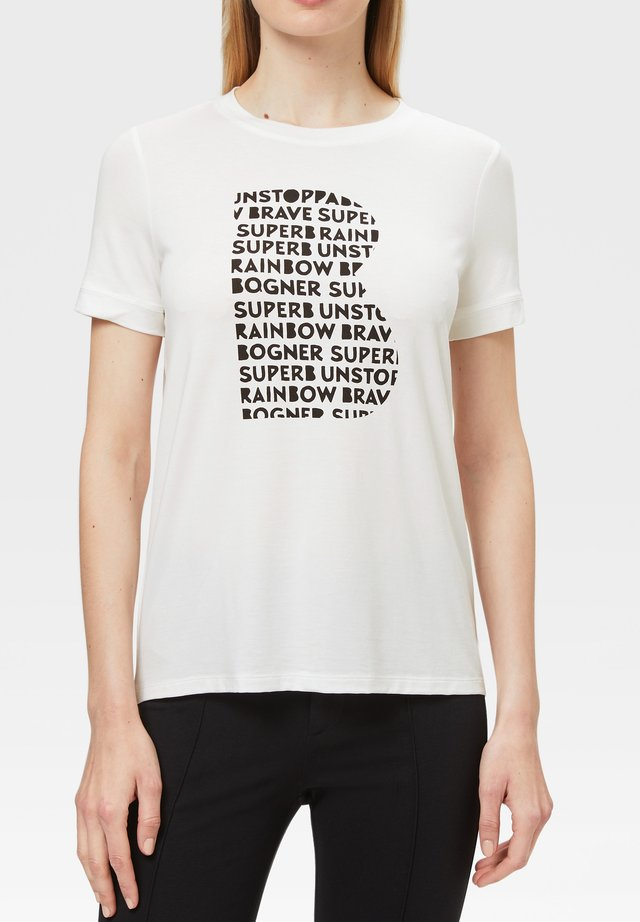 LANA - T-shirt imprimé - off-white