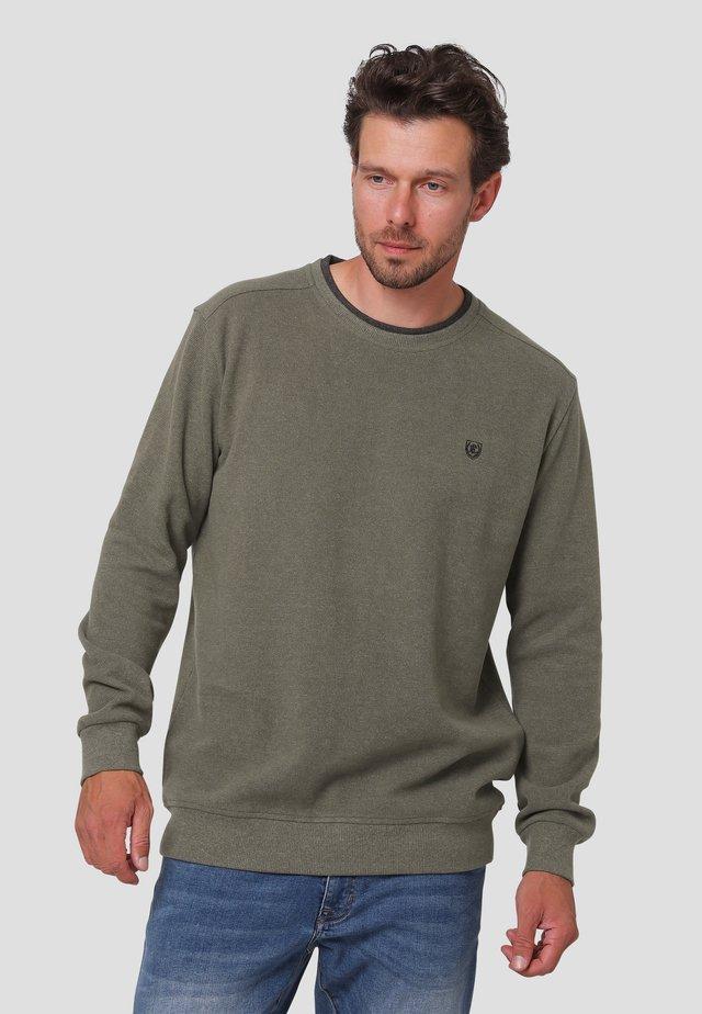 Sweatshirts - forest green mix
