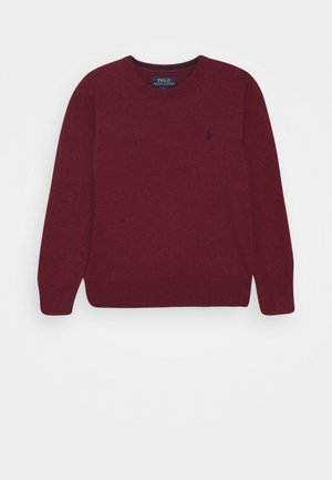 Jumper - vintage port heather