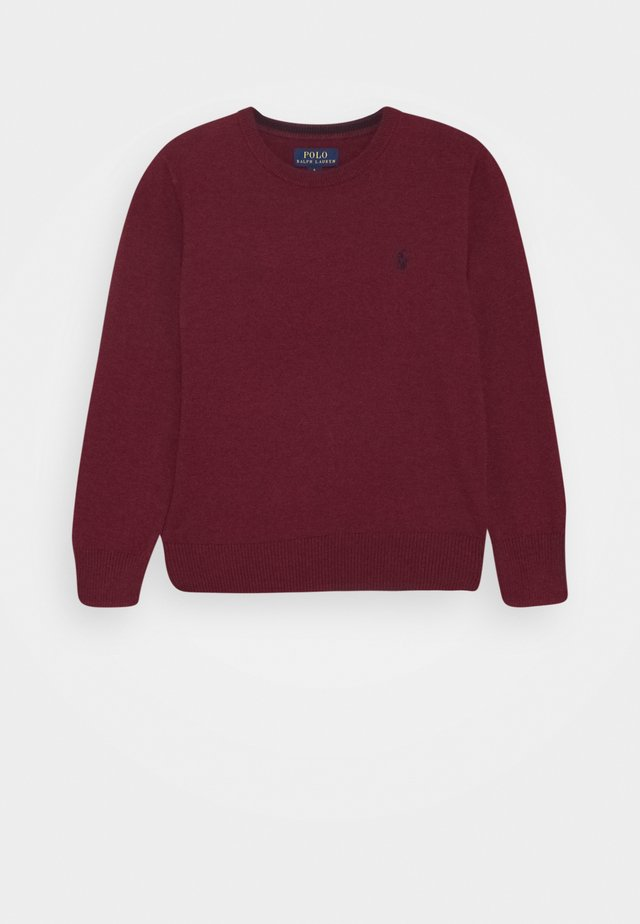 Strickpullover - vintage port heather