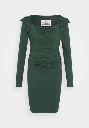 ELIZABETH DRESS - Vestito di maglina - green