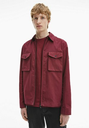Light jacket - tawny port