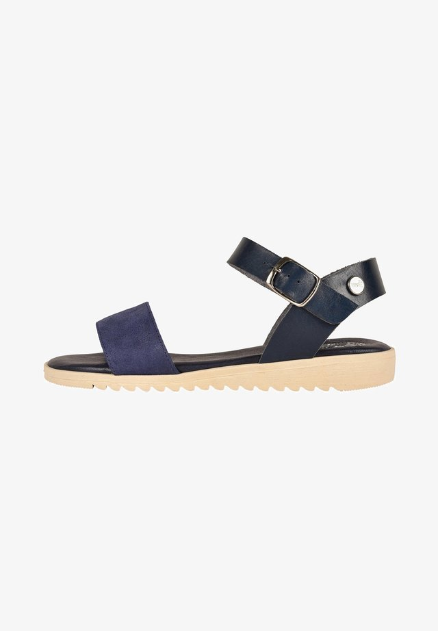 CACHOU F2G - Sandali con cinturino - navy blue