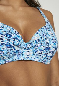 Pour Moi - ODYSSEY UNDERWIRED NON PADDED - Bikinitop - blue - 5