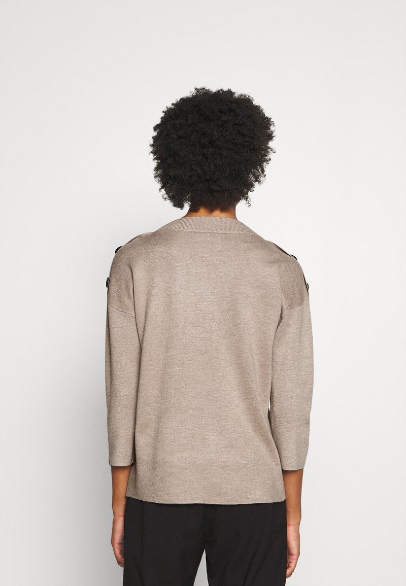 Freequent - FQANI - Jumper - oxford tan melange
