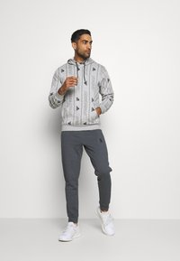 adidas Performance - Hoodie - medium grey heather/black - 1