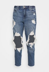 MOM - Jeans relaxed fit - indigo shred