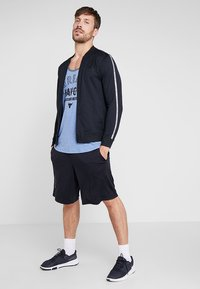 Under Armour - PROJECT ROCK TANK WREAK HAVOC - Sports shirt - heron light heather/black - 1