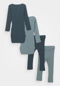 Name it - NBMRICHARD 2 PACK SET - Leggings - Trousers - dark slate/lead - 1