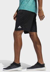 adidas Performance - ALL SET 2 DESIGNED2MOVE SHORTS - Short - black - 3