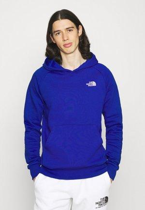 RAGLAN HOODIE - Kapuzenpullover - blue
