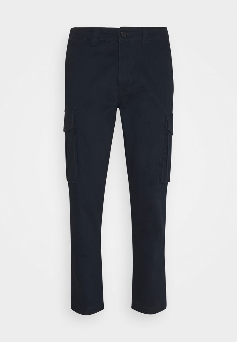 Selected Homme - SLHLOOSETAPERED AIDEN PANTS - Cargo trousers - dark sapphire