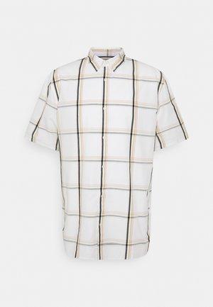 DAMEER CHECKED SHORT SLEEVE - Shirt - white