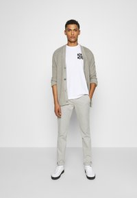 Dondup - PANTALONE GAUBERT - Chino - grey - 1