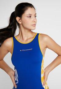 Tommy Sport - GRAPHIC BODYSUIT - trikot na gymnastiku - blue - 3
