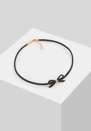 SCHLEIFE - Necklace - gold