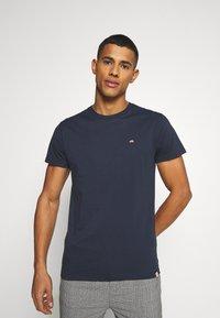 REVOLUTION - Basic T-shirt - dark blue - 0