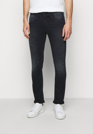 PANTALONE GEORGE - Skinny džíny - black denim