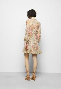 Needle & Thread - HARLEQUIN ROSE RUFFLE MINI DRESS - Koktejlové šaty/ šaty na párty - moonscape - 2