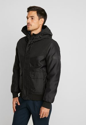 Winterjacke - black/grey