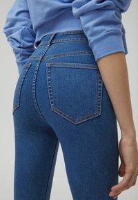 PULL&BEAR - Jeans Skinny Fit - blue - 4