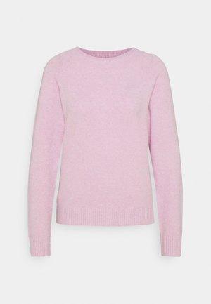 VMDOFFY O NECK - Maglione - pastel lavender melange
