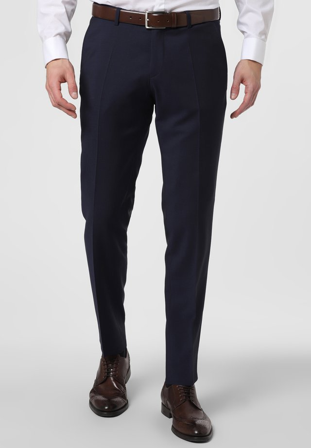 Suit trousers - marine