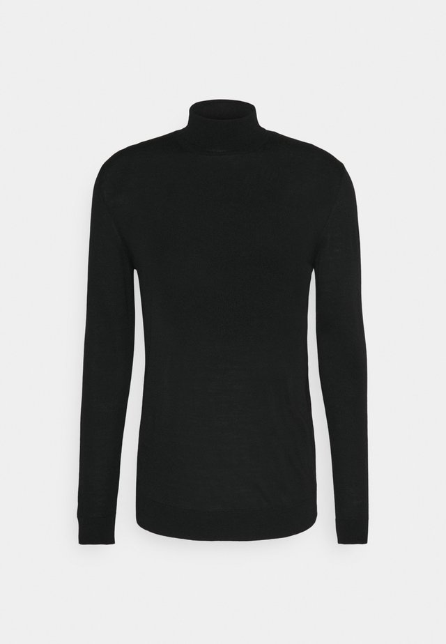 KANO - Strickpullover - black