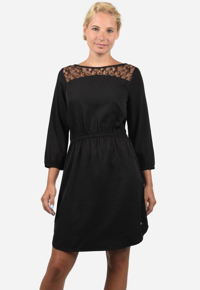 AMORA - Korte jurk - black soli