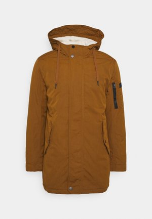 SOFT  - Winter coat - equestrian brown