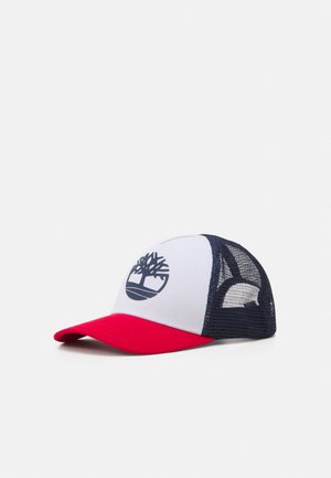 UNISEX - Cap - white/red/dark blue