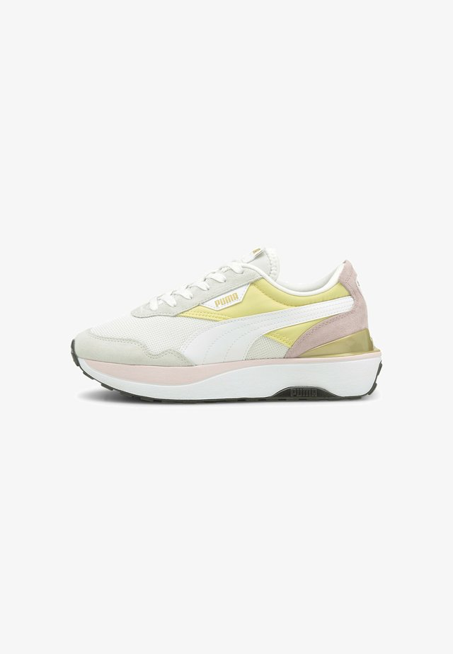 CRUISE RIDER SILK ROAD - Sneakers laag - yellow pear-white-pink lady
