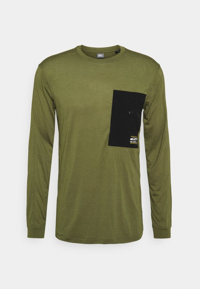 Long sleeved top - olive branch