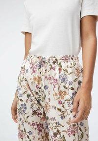 OYSHO - Pyjama bottoms - white - 3