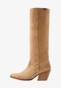 mtng - CENTA - Cowboy/Biker boots - beige - 1