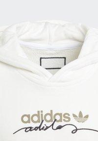 adidas Originals - R.Y.V. HOODIE - Hoodie - white - 4