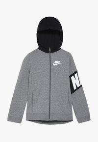 Nike Sportswear - CORE AMPLIFY HOODIE - Sweatjakke /Træningstrøjer - carbon heather/black - 0