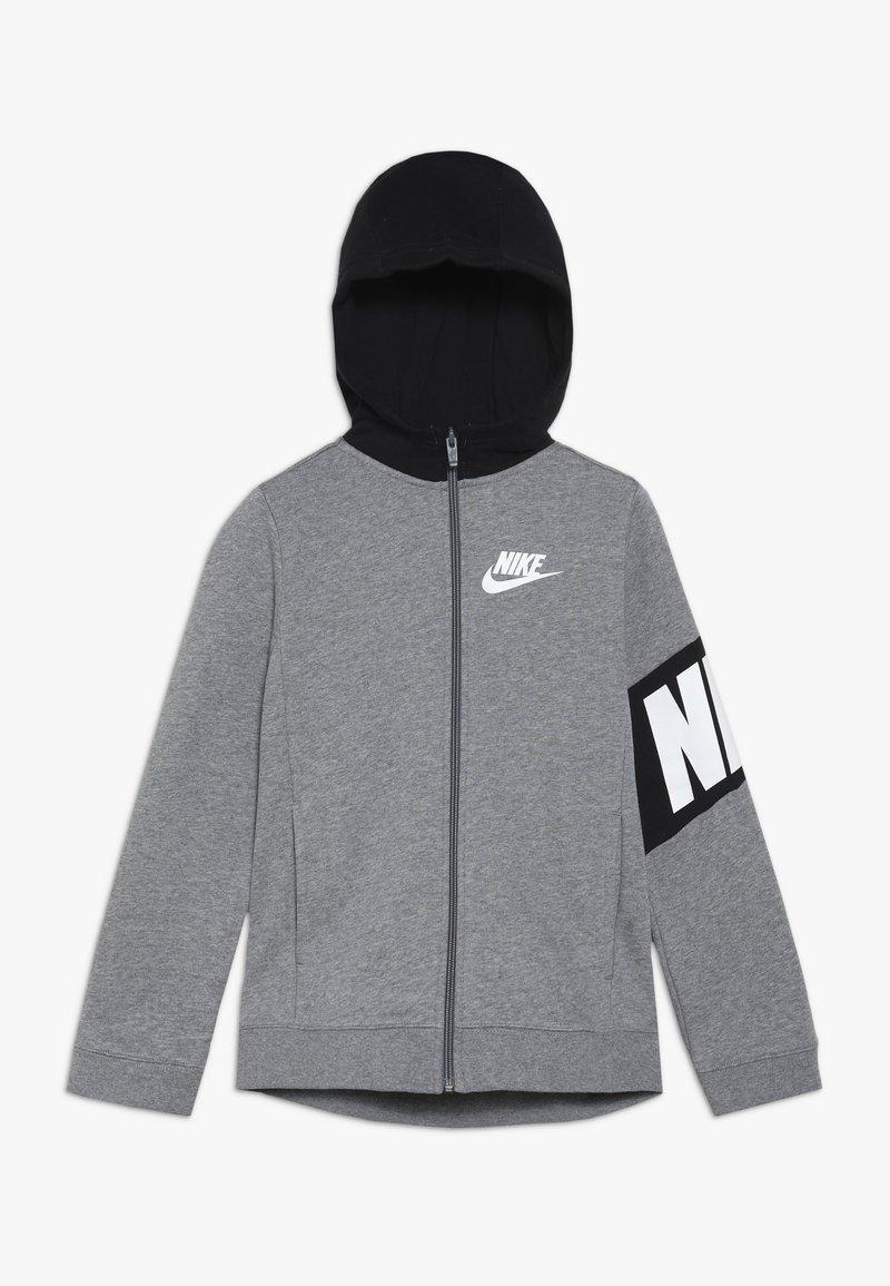 Nike Sportswear - CORE AMPLIFY HOODIE - Sweatjakke /Træningstrøjer - carbon heather/black