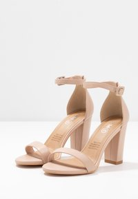 Rubi Shoes by Cotton On - SAN LUIS - Sandaler med høye hæler - pale taupe - 4