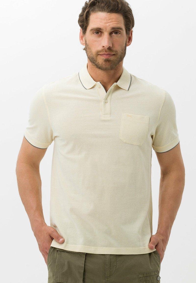 BRAX - STYLE PADDY - Polo shirt - vanilla
