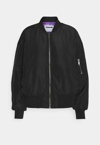 NMLABOMBA JACKET - Bomber Jacket - black/purple
