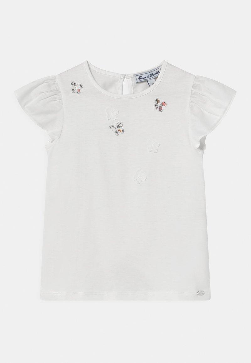 Tartine et Chocolat - Print T-shirt - craie