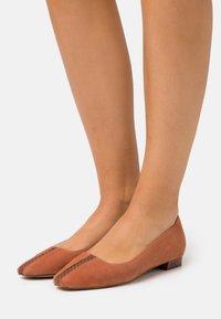 Zign - Ballet pumps - orange - 0