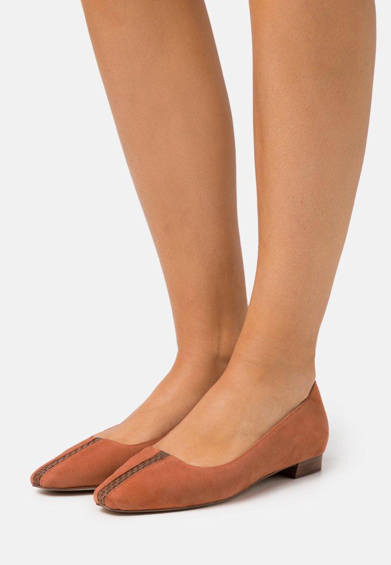 Zign - Ballet pumps - orange
