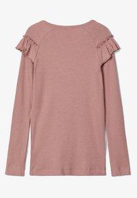 Name it - Langærmede T-shirts - woodrose - 1