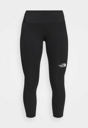 CROP TIGHT - Leggings - black