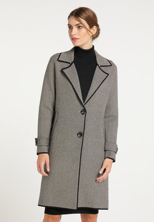 MANTEL - Short coat - schwarz