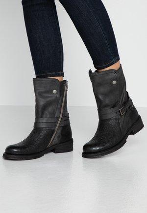 COOPER - Cowboy/Biker boots - black