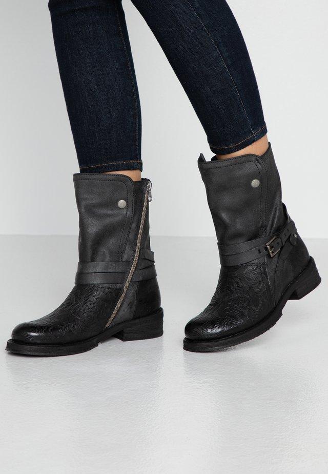 COOPER - Cowboystøvler - black